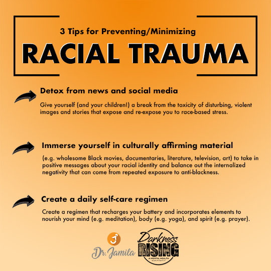 racial trauma graphic